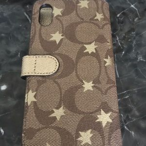 iPhone 7 Coach wallet/ wristlet